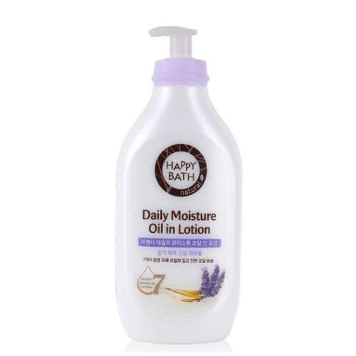Лосьон парфюмированный и увлажняющий с экстрактом лаванды для тела Happy Bath Daily Perfume Lavender Body Lotion 450ml 0 - Фото 1