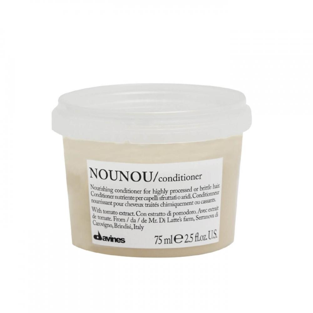 Питательный кондиционер для уплотнения ломких и поврежденных волос Davines Nourishing Nounou Conditioner 75ml 0 - Фото 1