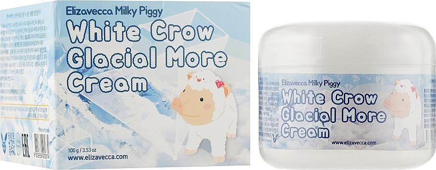 Крем для лица воздушный Elizavecca Face Care Milky Piggy White Crow Glacial More cream 100ml 0 - Фото 1