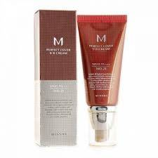 ВВ Крем Матирующий С Идеальным Покрытием Missha M Perfect Cover BB Cream SPF42 PA+++ 50ml