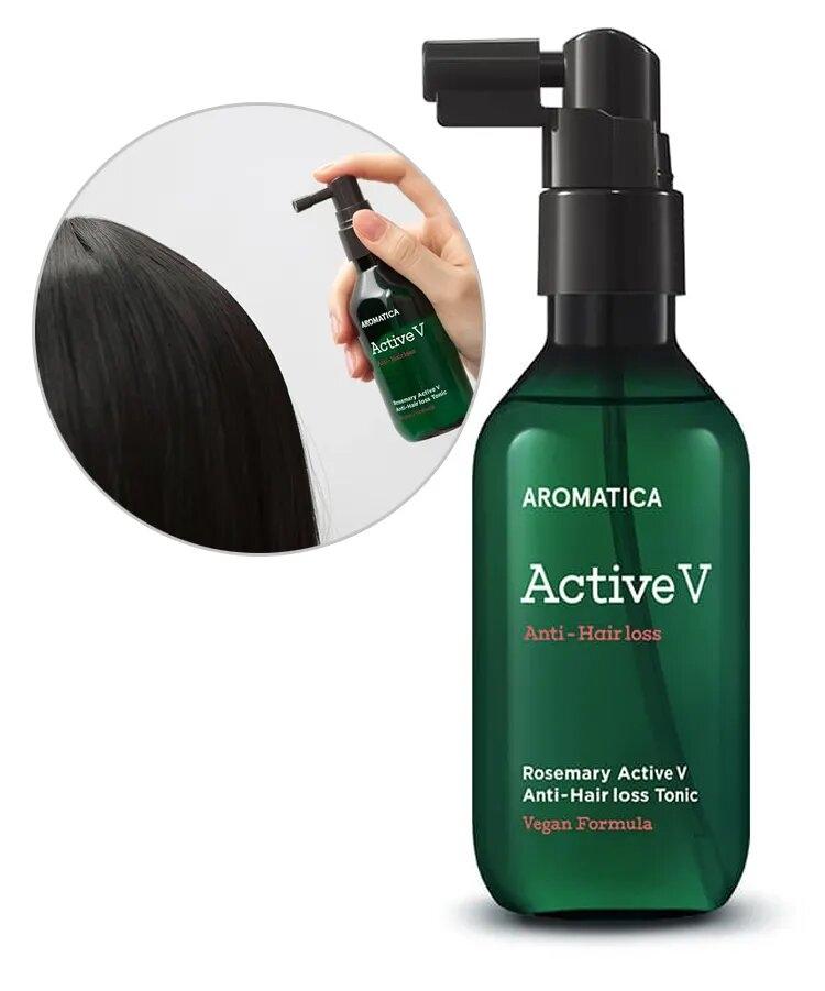 Активный питательный тоник против выпадения волос Aromatica Rosemary Active V Anti-Hair Loss Tonic 100ml 0 - Фото 1
