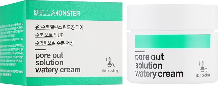 Крем для сужения пор с маслом семян арбуза BellaMonster Pore Out Solution Watery Cream 50ml 0 - Фото 1