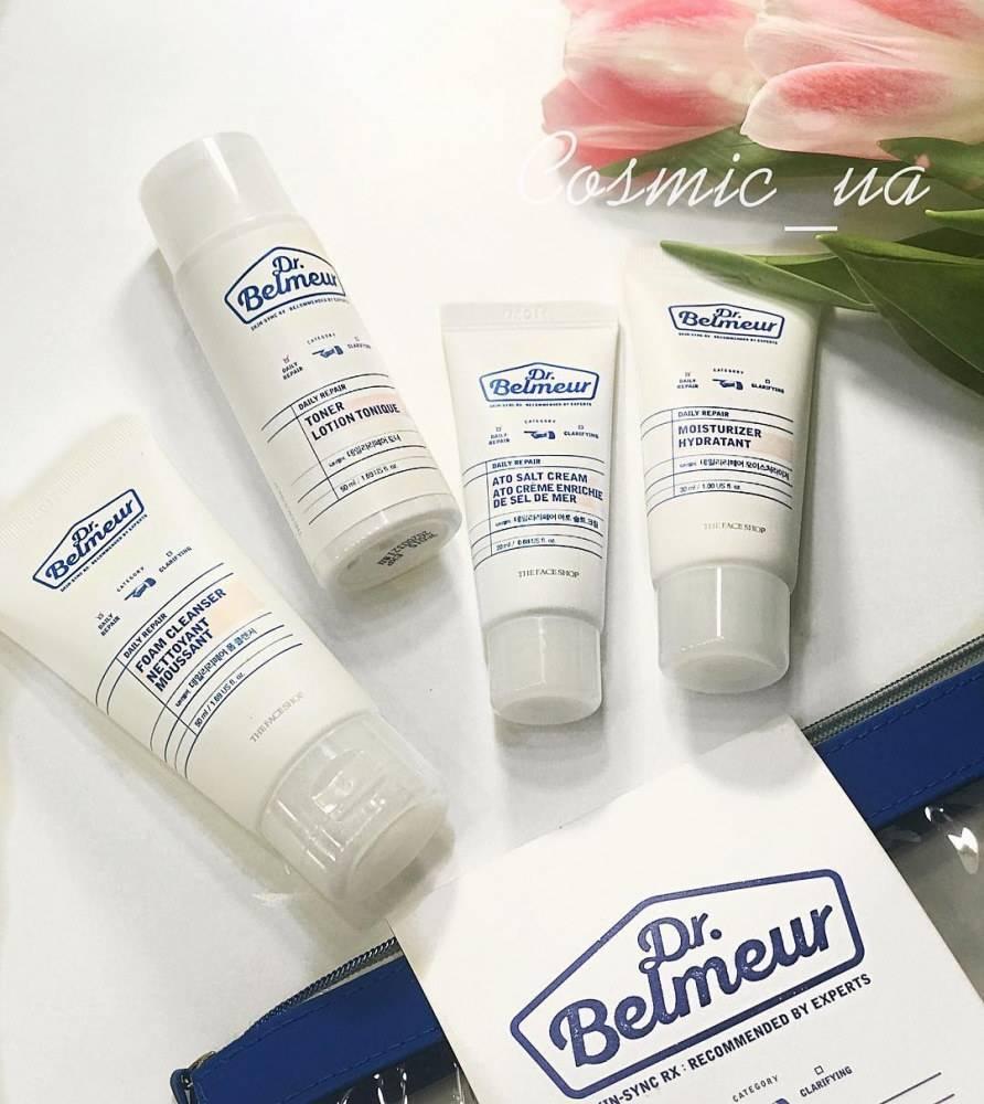 Набор для ухода за чувствительной кожей The Face Shop Dr.Belmeur Daily Repair Starter Kit 150ml