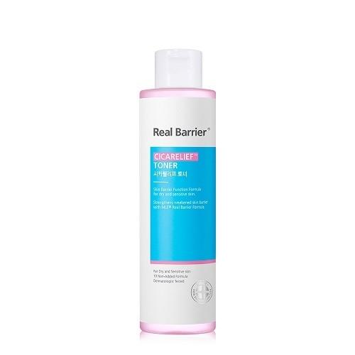 Тонер успокаивающий для чувствительной кожи с экстрактом азиатской центеллы Real Barrier Cicarelief Toner 190ml  2 - Фото 2