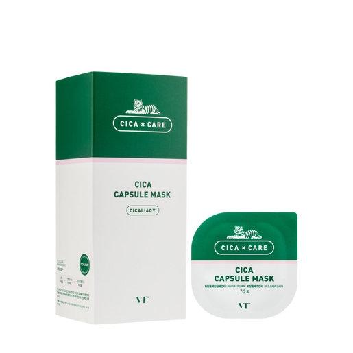 Успокаивающая капсульная маска на основе каолина и натуральных экстрактов VT COSMETICS VT CICA CAPSULE MASK 7.5g