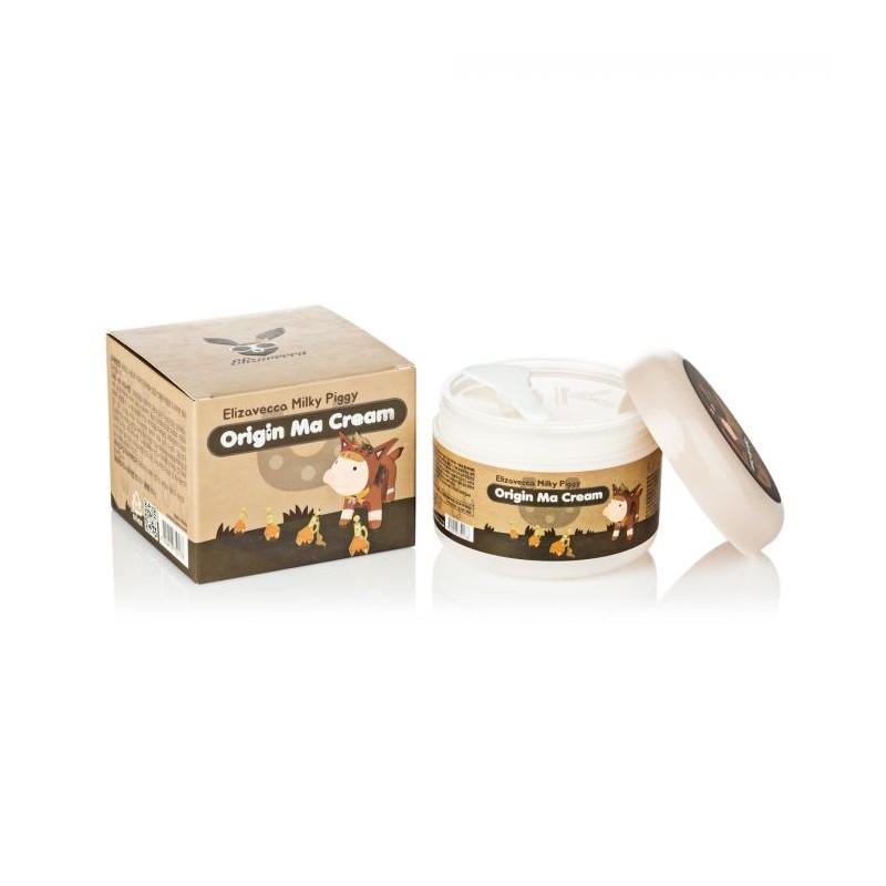 Крем восстанавливающий с лошадиным маслом Elizavecca Face Care Milky Piggy Origine Ma Cream 100ml 4 - Фото 4