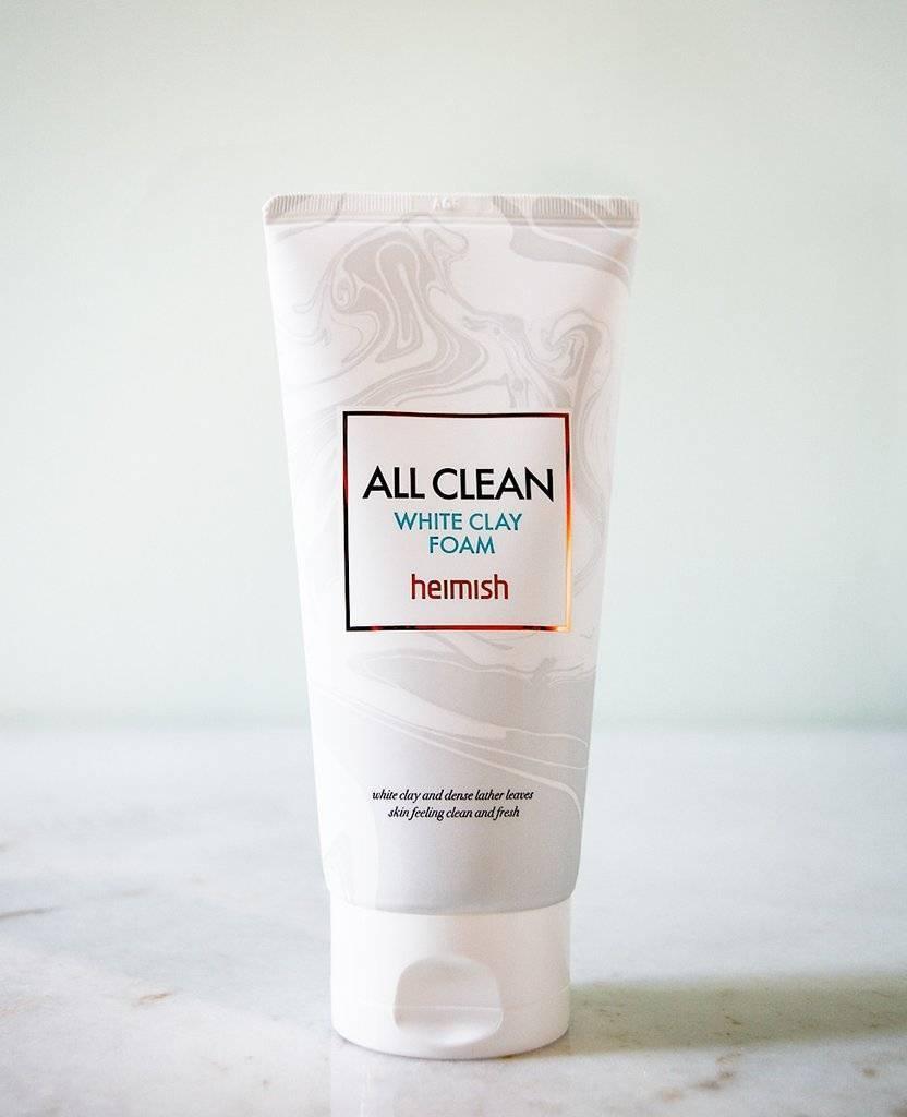 Пенка Для Умывания С Комплексом Кислот И Натуральных Экстрактов Heimish All Clean White Clay Foam 0
