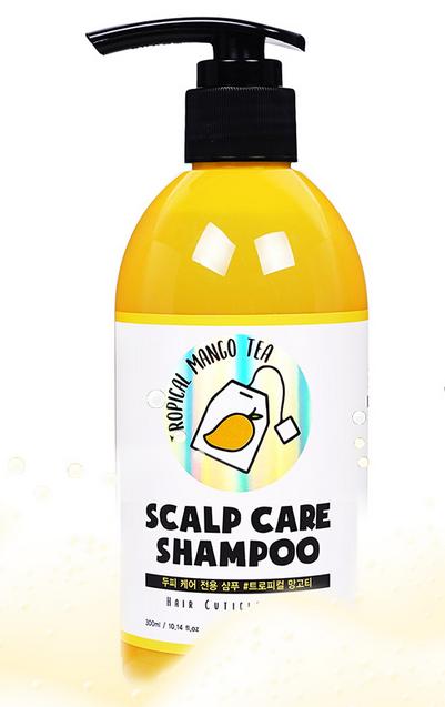 Шампунь успокаивающий с экстрактом манго для волос SUMHAIR Scalp Care Shampoo #Tropical Mango Tea 300ml 0 - Фото 1
