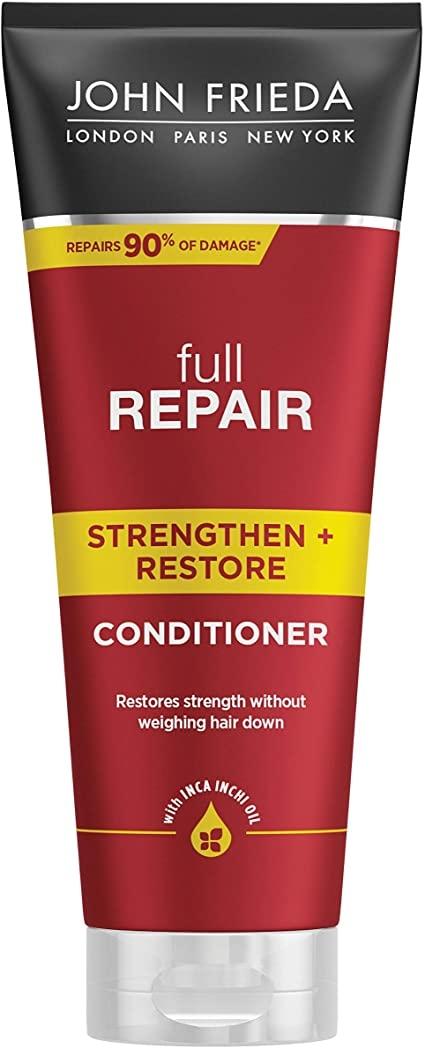 Кондиционер для волос укрепляющий + восстанавливающий «Полное восстановление» John Frieda Full Repair Strengthen & Restore Conditioner 250ml 0 - Фото 1