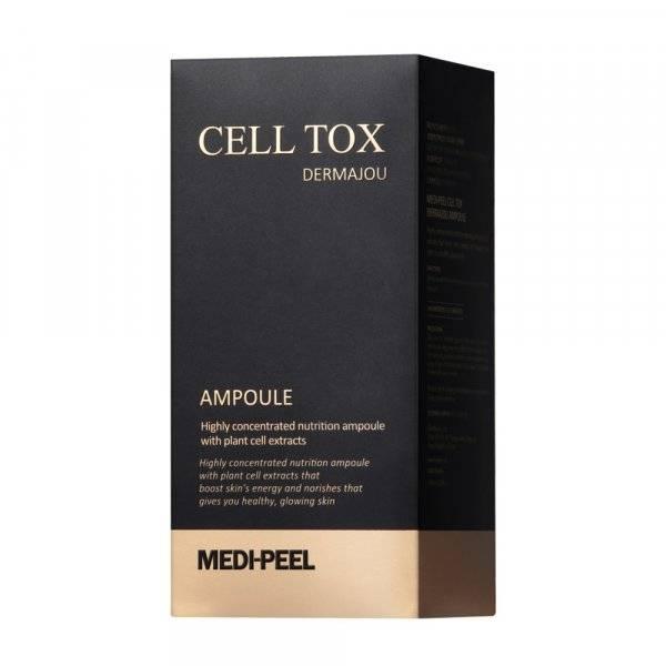 Антивозрастная ампульная сыворотка со стволовыми клетками Medi-peel Cell Tox Dermajou Ampoule 100ml 2 - Фото 2
