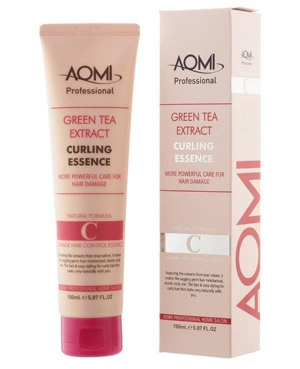 Эссенция с эффектом стайлинга для кудрявых волос Aomi Green Tea Extract Curling Essence 150ml 0 - Фото 1