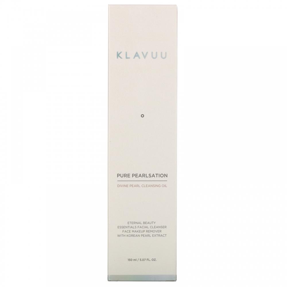 Очищающее гидрофильное масло с жемчужным экстрактом KLAVUU PURE PEARLSATION Divine Pearl Cleansing Oil 150 ml