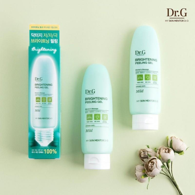 Освежающий пилинг-гель для кожи лица Doctor.G Brightening Peeling Gel 120ml 3 - Фото 3