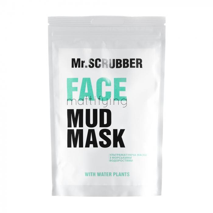 Маска матирующая с морскими минералами для лица Mr.Scrubber Face Mattifying Mud Mask 150g 0 - Фото 1