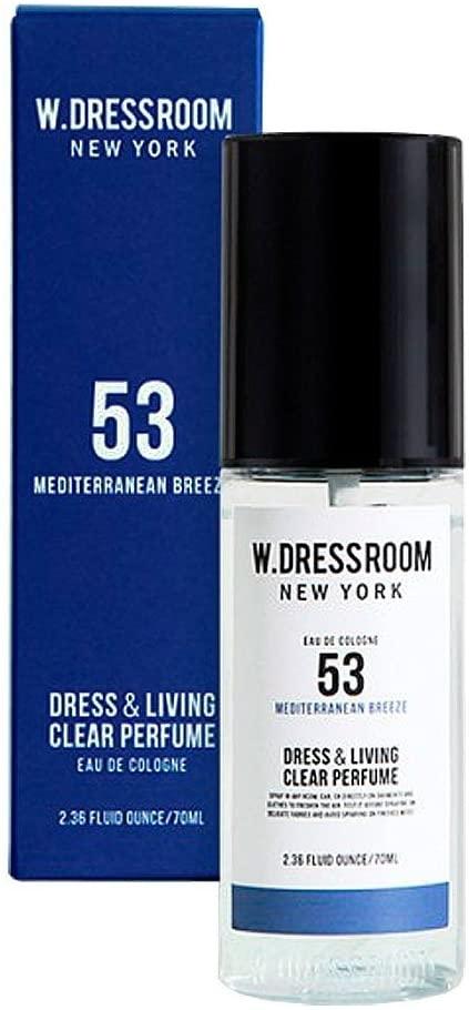 Парфюм для одежды и белья с ароматом морского бриза W.Dressroom Dress & Living Clear Perfume - No.53 Mediterranean Breeze 70 ml 3 - Фото 3