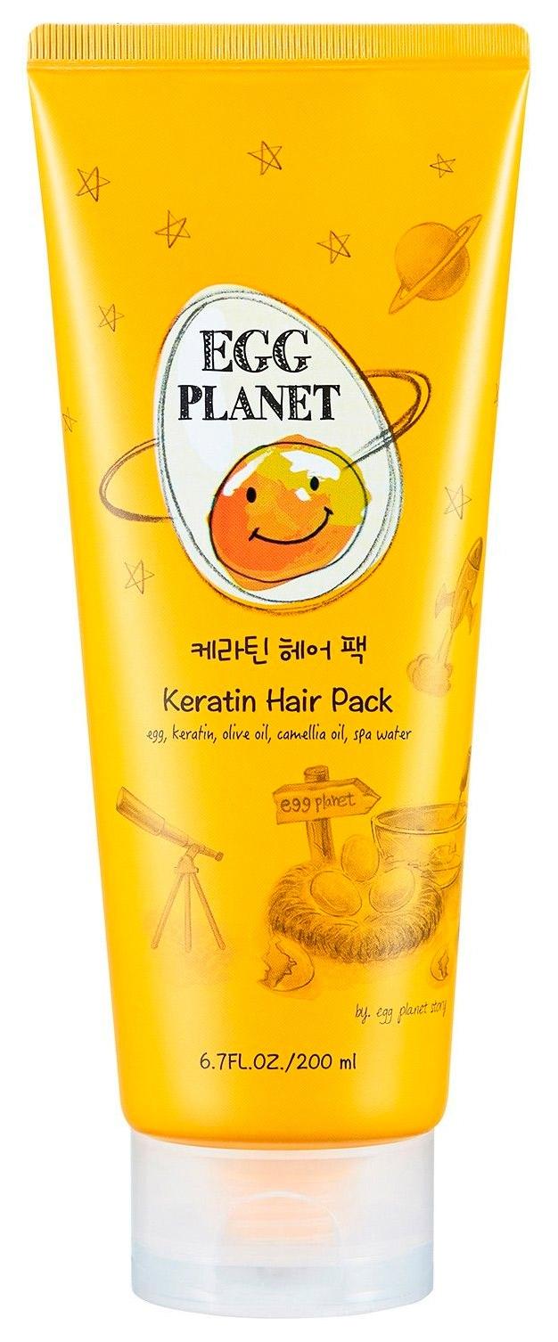 Маска укрепляющая с кератином и яичными желтками Daeng Gi Meo Ri Egg Planet Keratin Hair Pack 2 - Фото 2