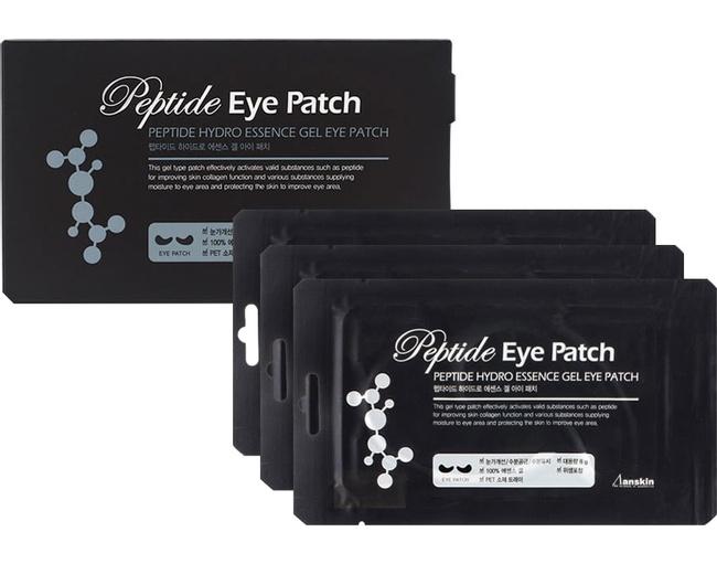 Патчи гидрогелевые омолаживающие с пептидным комплексом Anskin Peptide Hydro Essence Gel Eye Patch 8g 0 - Фото 1