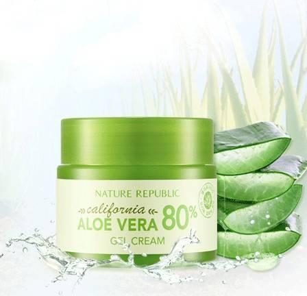 Крем Увлажняющий С Экстрактом Калифорнийского Алое California Aloe Vera 80% Gel Cream 0