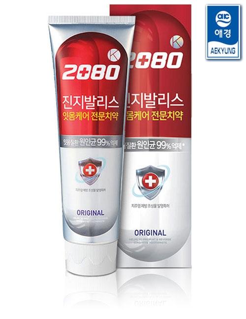 Зубная паста антибактериальная с экстрактом гинкго билоба  2080 Gingivalis Original Toothpaste 120g 0 - Фото 1
