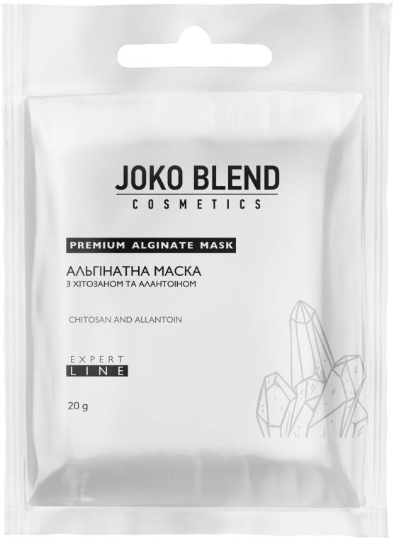 Маска альгинатная с хитозаном и аллантоином для лица Joko Blend Premium Alginate Mask 20g 0 - Фото 1