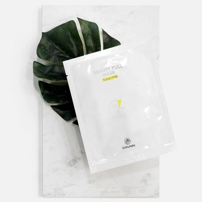 Маска Тканевая Очищающая С Экстрактом Центеллы Son & Park Beauty Full Mask Clean 25 ml  0 - Фото 1