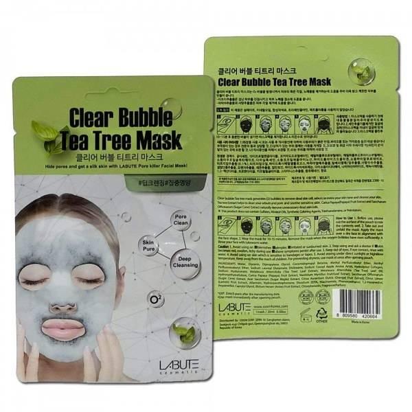 Кислородная Маска Очищающая С Экстрактом Чайного Дерева Labute Clear  Bubble  Tea  Tree  Mask 0