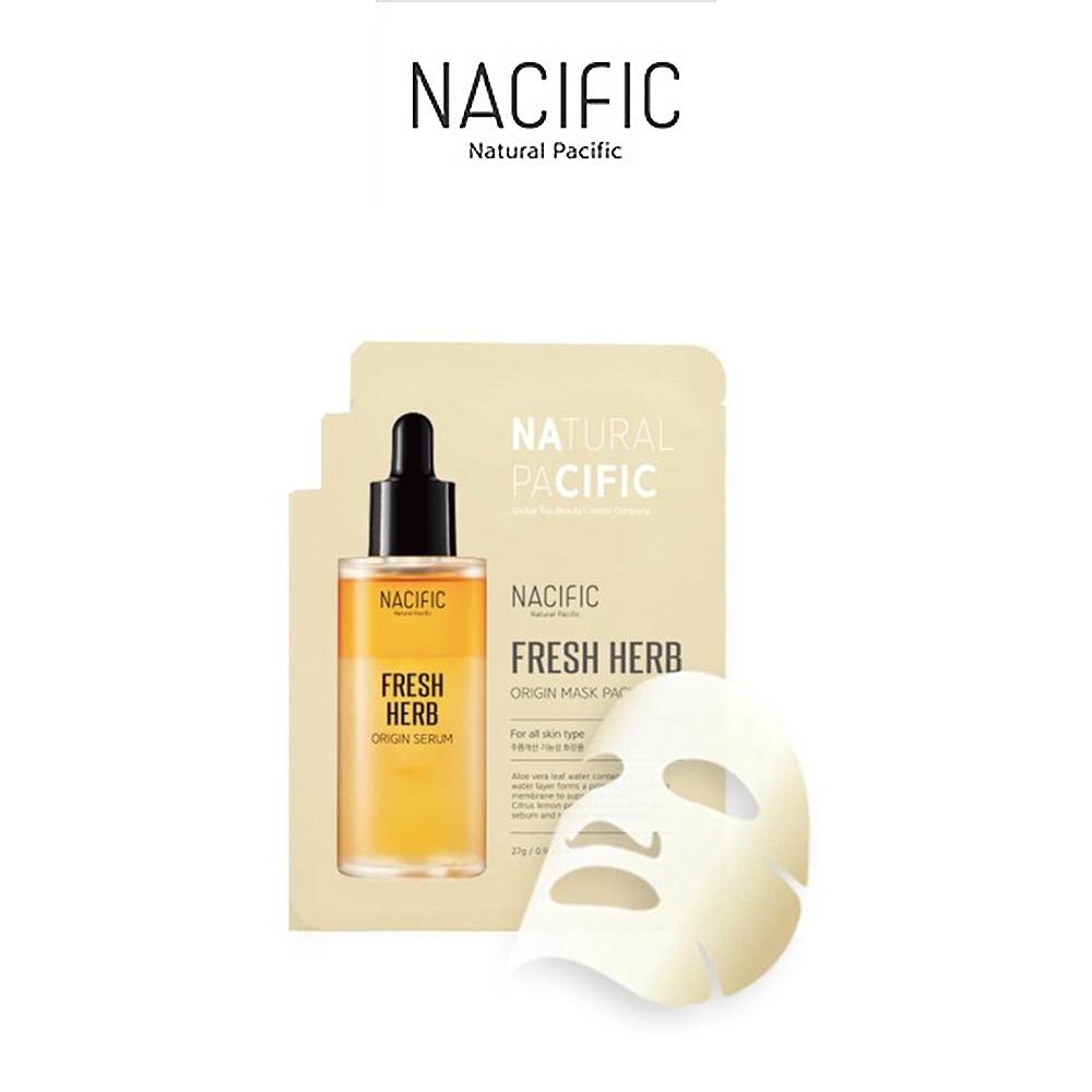 Маска Успокаивающая С Экстрактом Алоэ И Трав Nacific  Fresh Herb Origins Mask Pack 27ml 0 - Фото 1