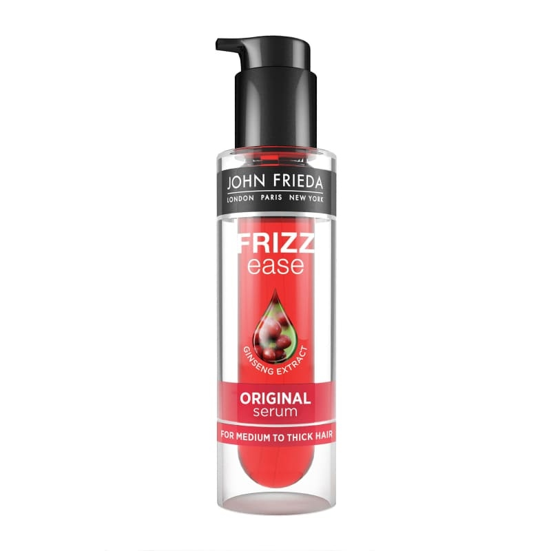 Сыворотка для облегчения укладки непослушных волос John Frieda Frizz Ease Original 6 Effects Serum 50ml 3 - Фото 4