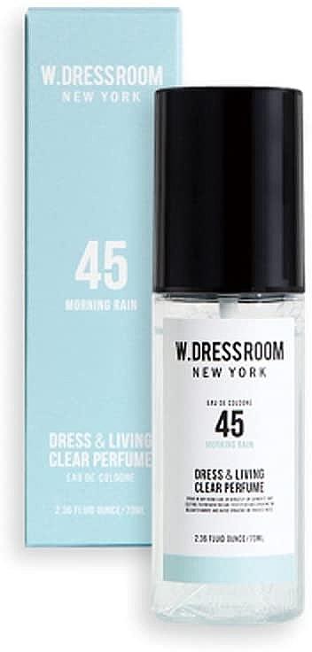 Парфюм для одежды и белья с ароматом утреннего дождя Dress & Living Clear Perfume No.45 Morning rain 70ml