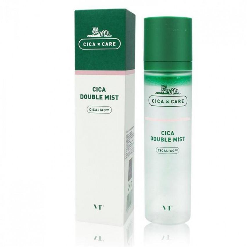 Мист успокаивающий с экстрактом центеллы VT Cosmetics Cica Double Mist 120ml 0 - Фото 1