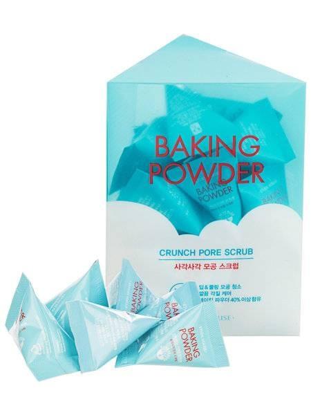 Содовый микропиллинг для лица Etude House Baking Powder Crunch Pore Scrub 1 - Фото 2