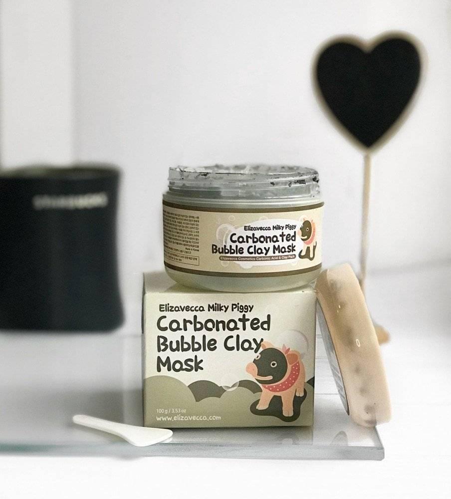 Маска Пузырьковая Для Глубокого Очищения Пор Elizavecca Carbonated Bubble Clay Mask 0 - Фото 1