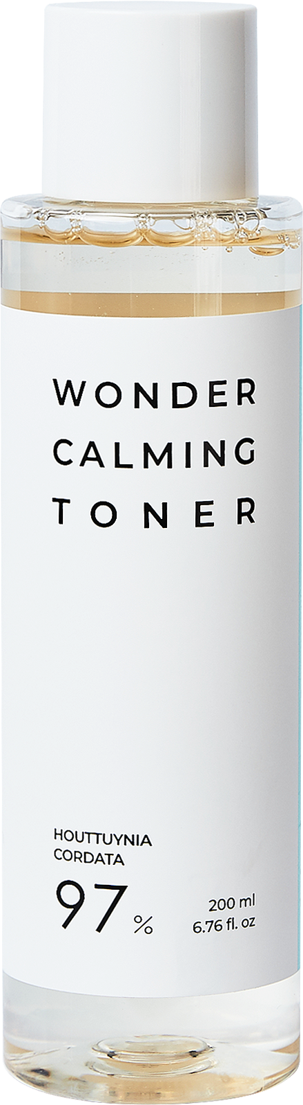 Тонер успокаивающий с экстрактом хауттюйнии Esthetic House Houttuynia Cordata 97% Wonder Calming Toner 200ml 2 - Фото 2