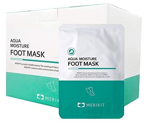 Маска-носочки увлажняющая для ног с мочевиной Merikit Aqua Moisture Foot 20ml 0 - Фото 1