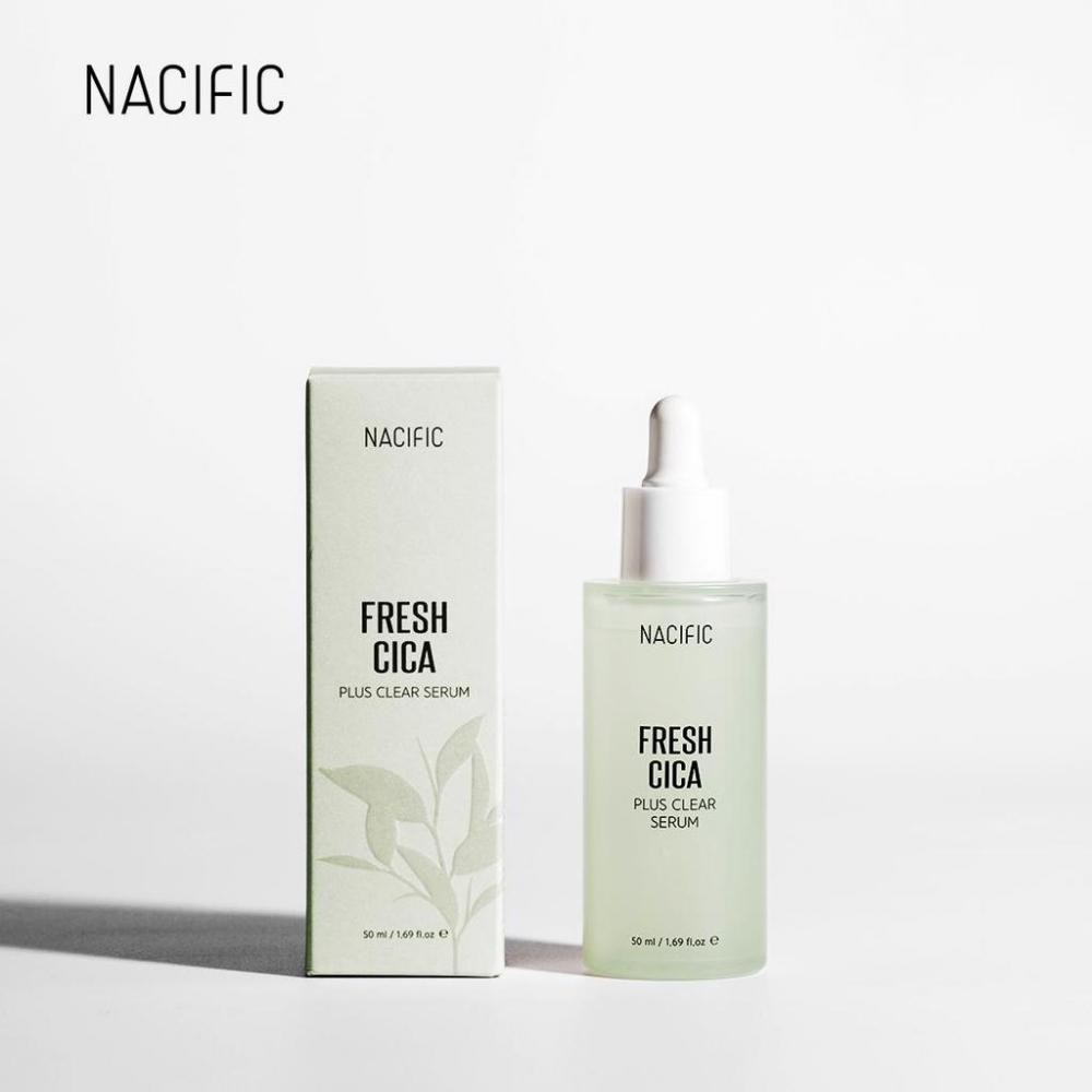 Сыворотка успокаивающая с экстрактом центеллы Nacific Fresh Cica Plus Clear Serum 50ml 0 - Фото 1