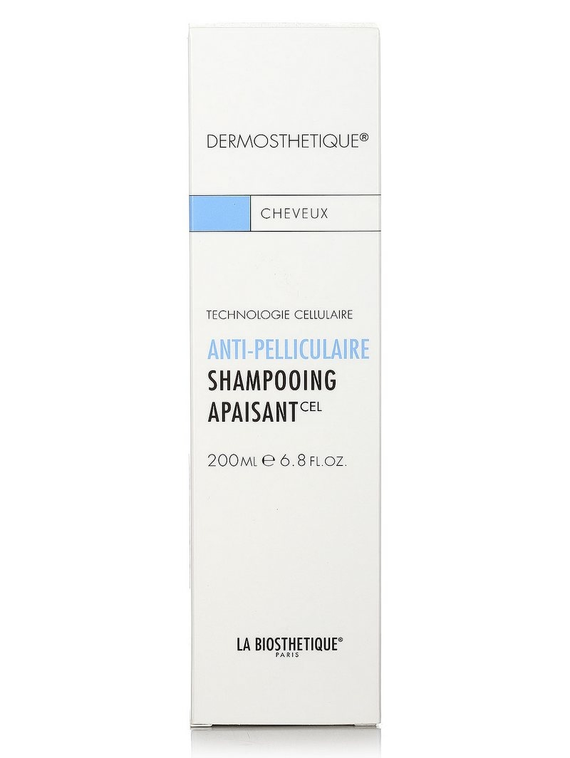 Шампунь клеточно-активный против перхоти для чувствительной кожи головы La Biosthetique Dermosthetique Shampooing Apaisant 200ml 2 - Фото 2