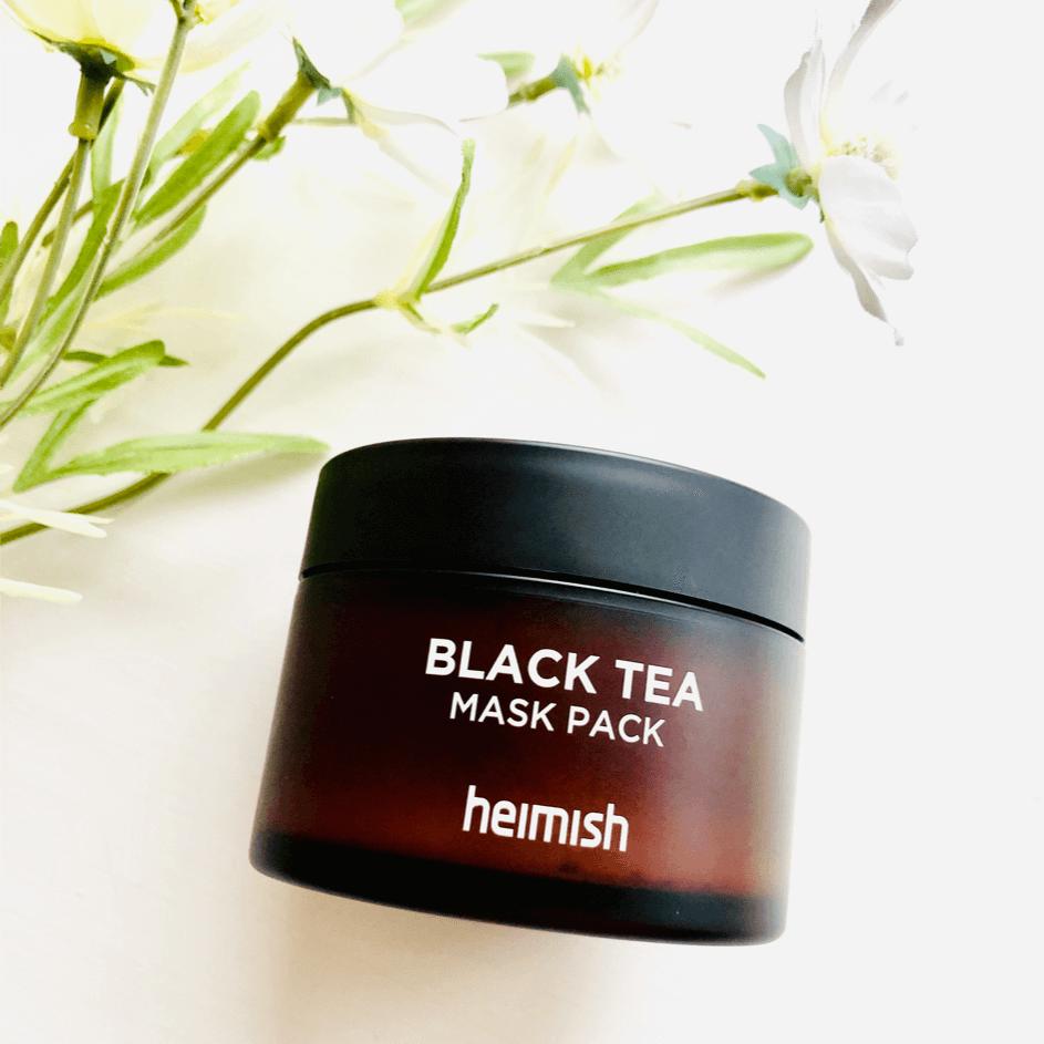 Маска Успокаивающая Восстанавливающая С Черным Чаем Heimish  Black Tea Mask Pack 2 - Фото 2