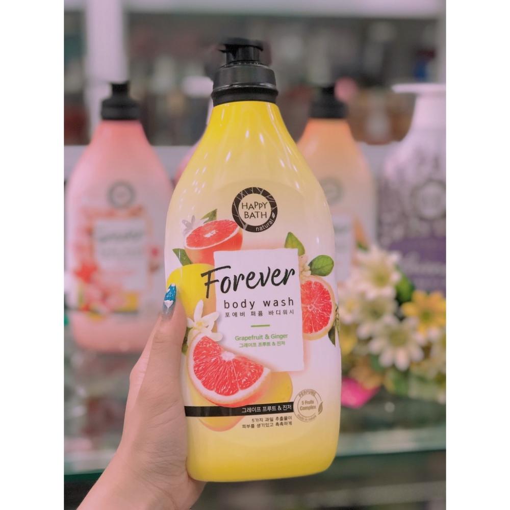 Гель для душа укрепляющий с экстрактом грейпфрута и имбиря Happy Bath Forever Grapefruit & Ginger Perfumed Body Wash 900ml 1 - Фото 2
