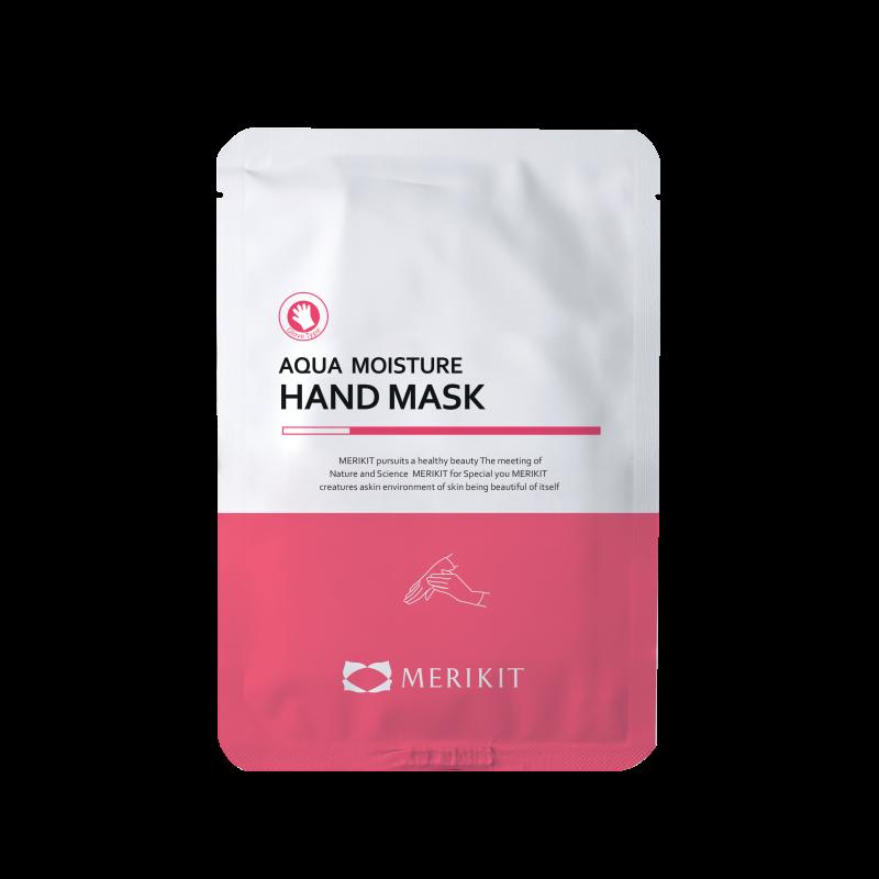 Маска-перчатки для рук увлажняющая с маслом ши Merikit Aqua Moisture Hand Mask 16ml 2 - Фото 2