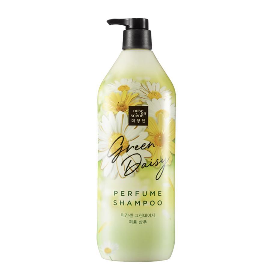 Шампунь парфюмерный с экстрактом маргаритки для волос Mise en Scene GREEN DAISY PERFUME SHAMPOO 1100ml 0 - Фото 1