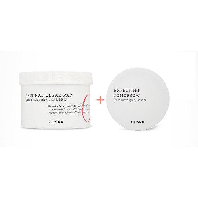 Диски Очищающие С BHA-Кислотой COSRX One Step Pimple Clear Pads Thanks Two Set 70шт 1 - Фото 2