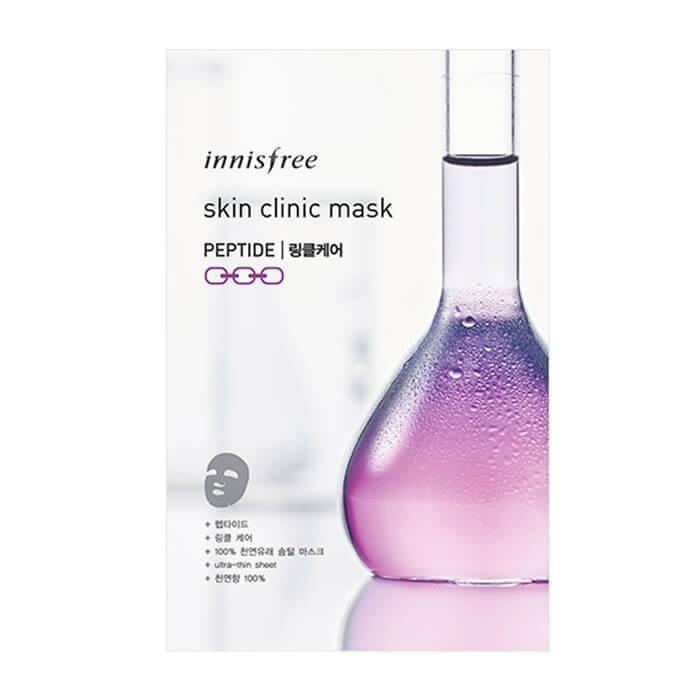 Маска Профессиональная Укрепляющая Омолаживающая С Пептидами Innisfree Skin Clinic Mask Peptide 20ml