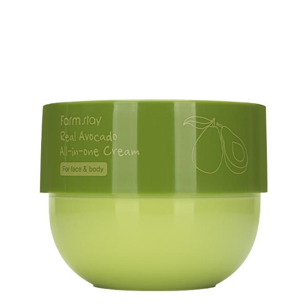 Крем универсальный для лица и тела с авокадо FarmStay Real Avocado All-In-One Cream 300ml 2 - Фото 2