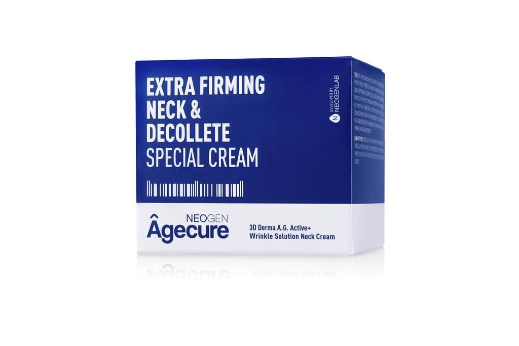 Крем Восстанавливающий Для Шеи И Зоны Декольте С Гиалуроновой Кислотой Neogen Agecure Extra Firming Neck & Decollete Special Cream 80ml