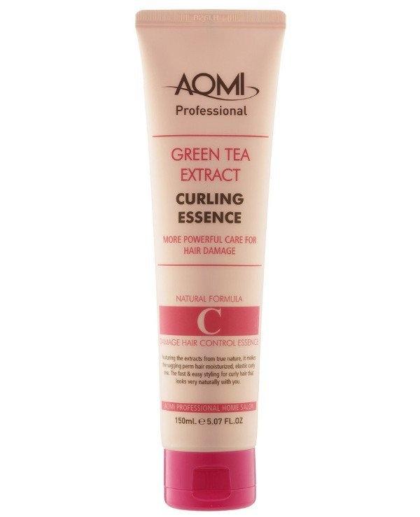 Эссенция с эффектом стайлинга для кудрявых волос Aomi Green Tea Extract Curling Essence 150ml 3 - Фото 3