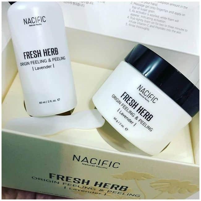 Набор премиальных средств для комплексного пилинга кожи лица Nacific Fresh Herb Origin Feeling & Peeling 60ml+60ml 0 - Фото 1