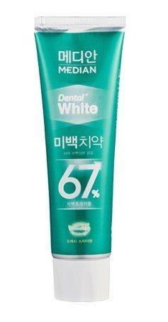 Отбеливающая зубная паста Median Dental White 67% Spear (светло-зеленая) 100ml 3 - Фото 3