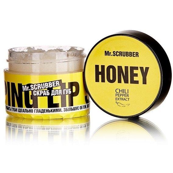 Скраб сахарный с натуральным медом для губ Mr.Scrubber Wow Lips Honey 35ml 0 - Фото 1