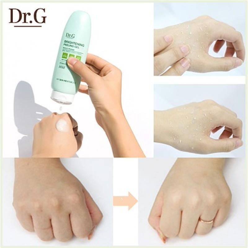 Освежающий пилинг-гель для кожи лица Doctor.G Brightening Peeling Gel 120ml 2 - Фото 2