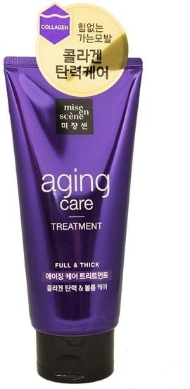 Маска восстанавливающая с белком устрицы Mise en Scene Aging Care Treatment 180ml
